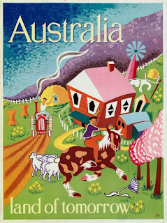 Australian Government poster between 1949 and 1951