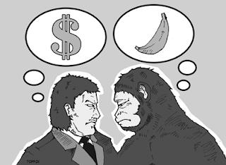 Persamaan dan Perbedaan Manusia dengan Kera/Primata