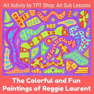 art sub lesson about Reggie Laurent
