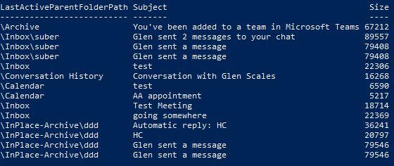 Glen's Exchange and Office 365 Dev Blog