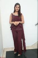 Nikki Galrani in a Brown Shining Sleeveless Gown at Nakshatram music launch ~  Exclusive 038.JPG