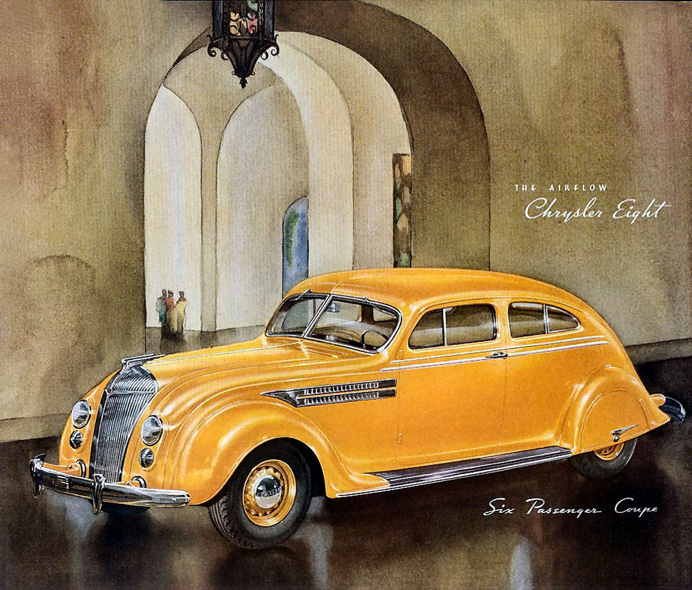 Auto Union Project 1934 Chrysler Airflow The First Modern Car