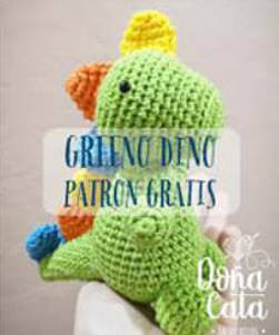 PATRON GRATIS DINOSAURIO AMIGURUMI 36498