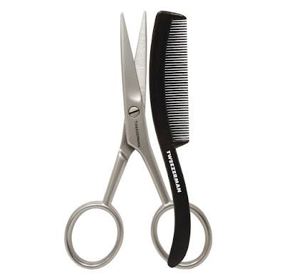 tijeras y peine para barba GEAR de Tweezerman