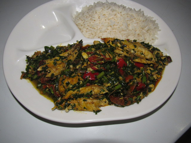 Vegetable stew with rice