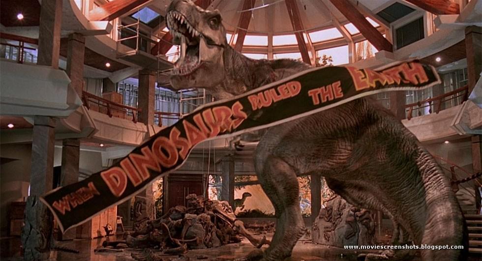 Jurassic Park T Rex Roar Vagebond's ...