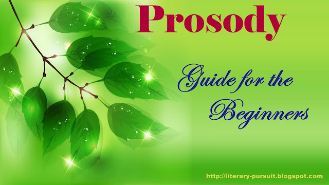 Prosody: Guide for the Beginners