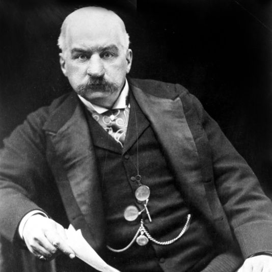 Easily the most powerful fiscal figure inward the nine John Pierpont Morgan