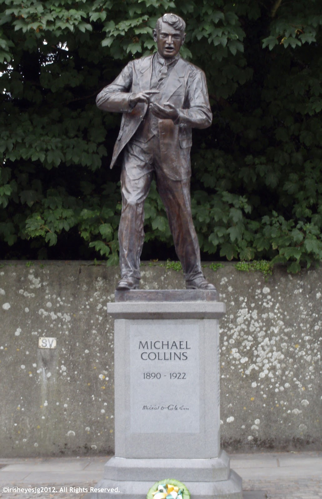 Over Thy Dead Body A Cemetery Blog Remembering Michael Collins On The 90th Anniversary Of