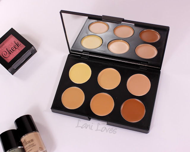 Australis AC On Tour Contouring & Highlighting Kit Cream swatches & review