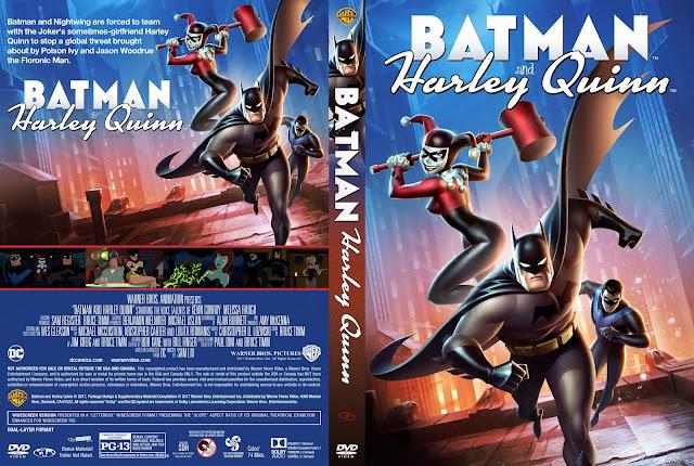 Batman And Harley Quinn DVD Cover