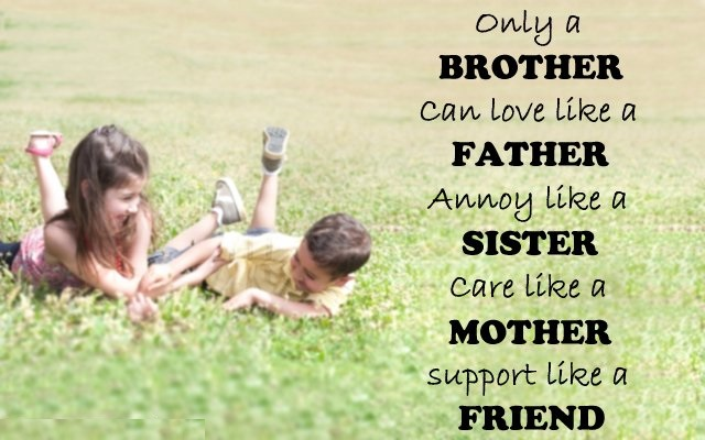 I Love You Messages For Brother Best Quotes And Sayings Best Quotes About Loving Your Brother