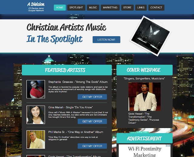 New Music Marketing Platform Puts Featured Artists in The Spotlight!