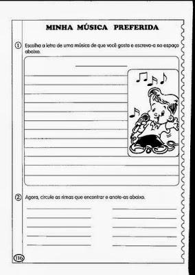 Educar X 100 Atividades Sobre Producao De Texto Para Imprimir
