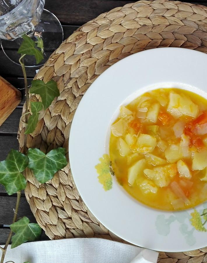 Receta de purrusalda o sopa de puerros