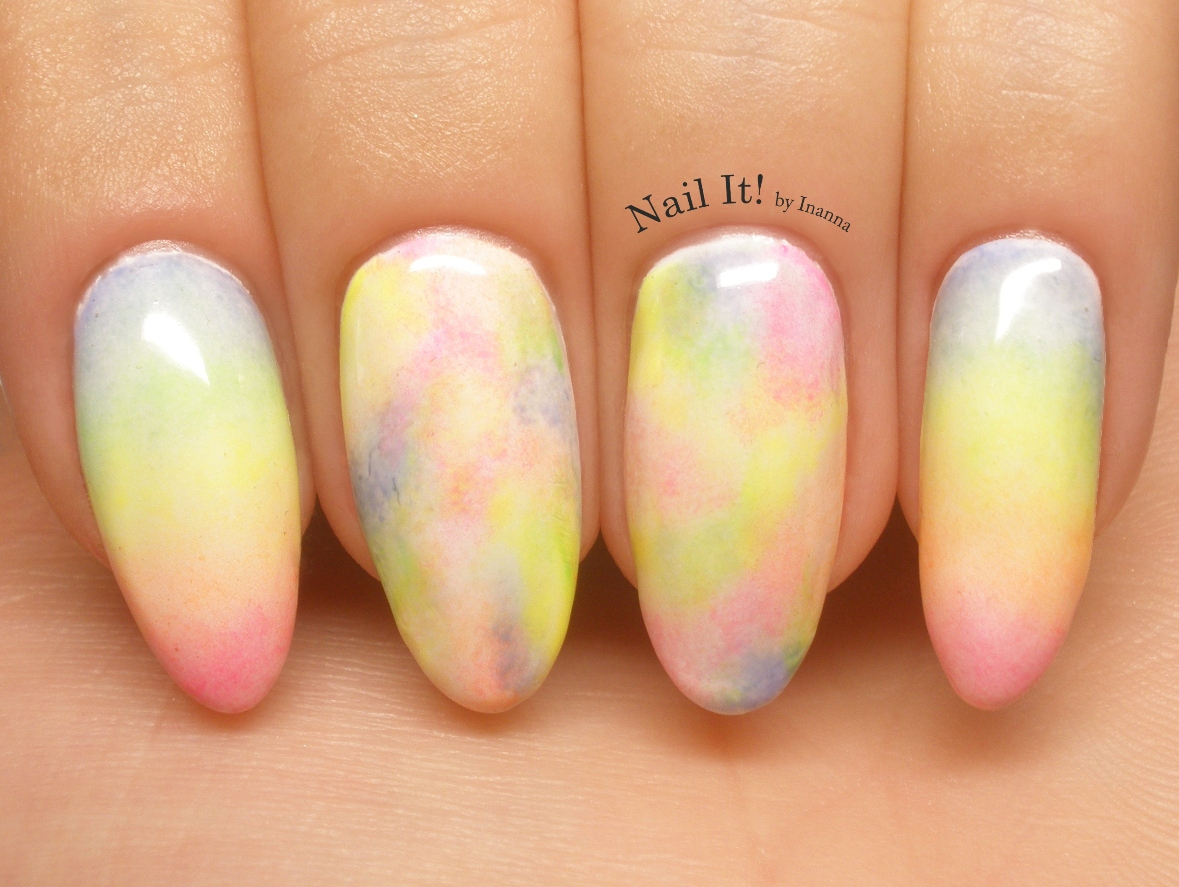 Zapp Rainbow Nail Art with Indigo Nails Arte Brillante