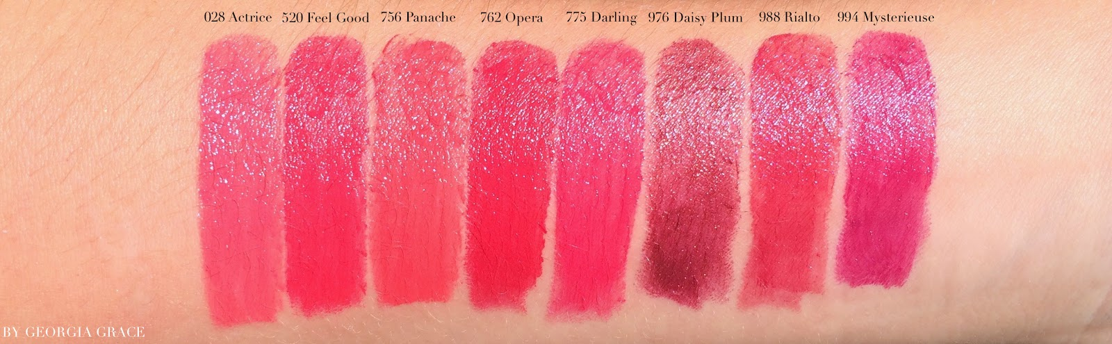 451 Natural C Beautiful Medium Lip Color 881 Pink A Rosy 761 Cherry Strawberry Red