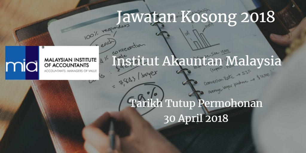 Jawatan Kosong MIA 30 April 2018