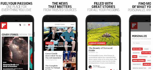 flipboard,seo apps for android, digital marketing apps for android, social medial marketing apps