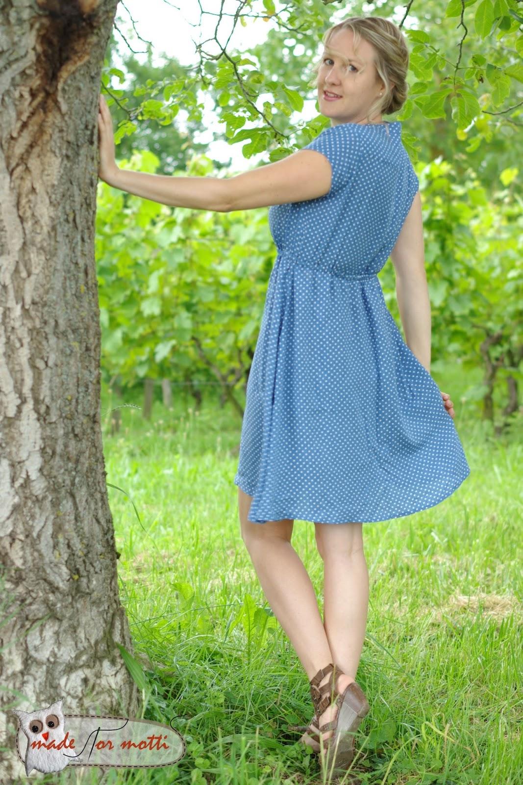 Abspritzen auf meinem Kleid
