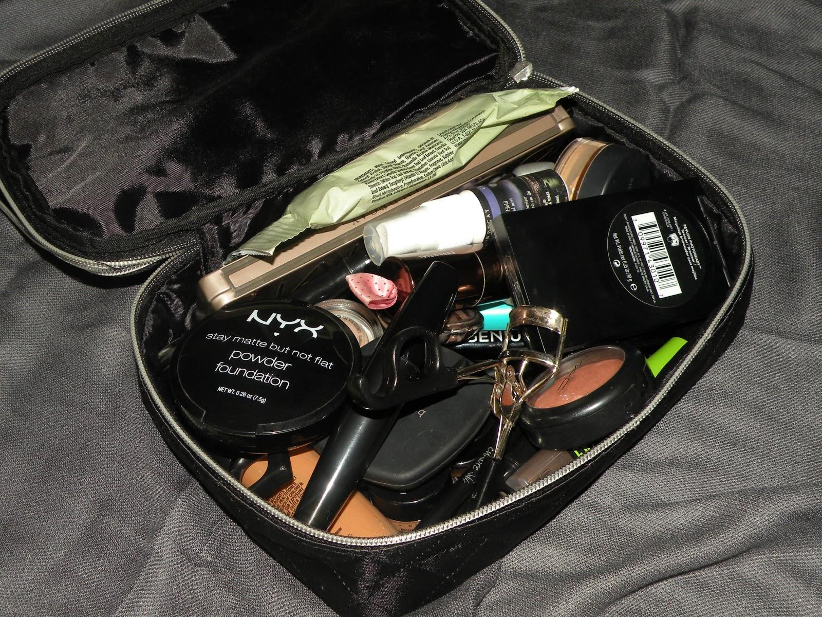 Chic Sleek Makeup Bag