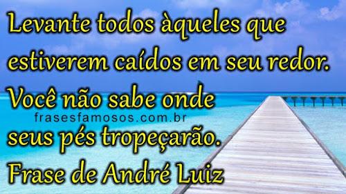 Mensagem de André Luiz