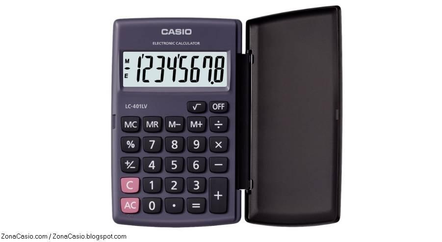 Zona Casio: Las interesantes nuevas calculadoras..
