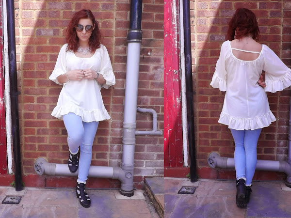 What Cat Wore: Frilly Hem Everything