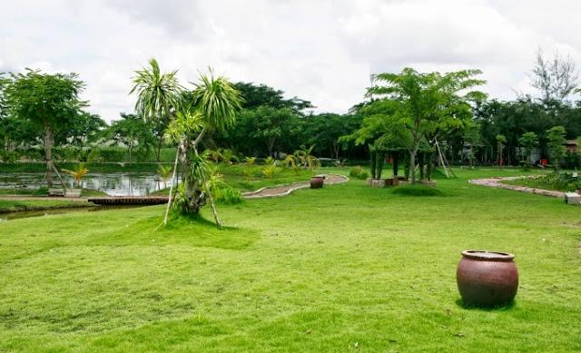 công viên xanh dự án An Thiên Lý