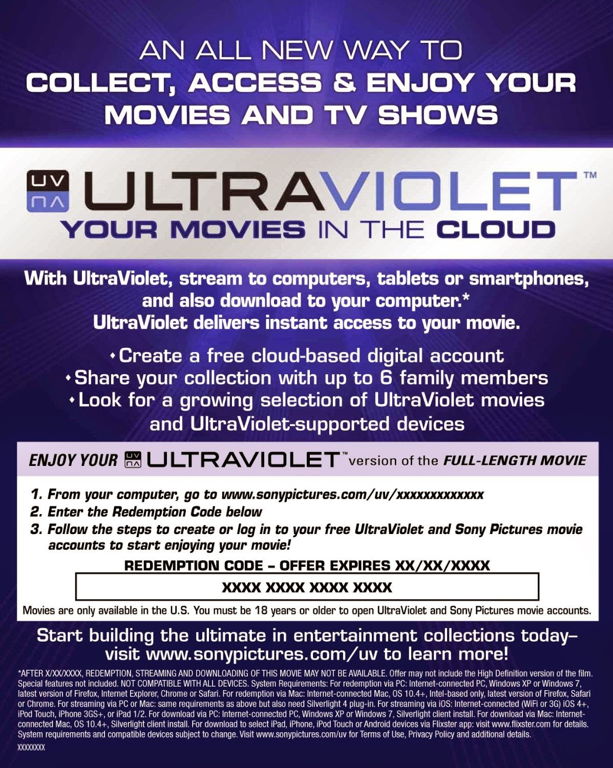 The Best Place to buy ultraviolet, iTunes & Disney movie Codes. Instant Delivery, Great Selection and Great Prices.