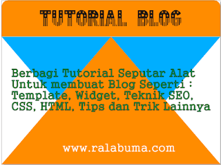 tutorial cara membuat blog