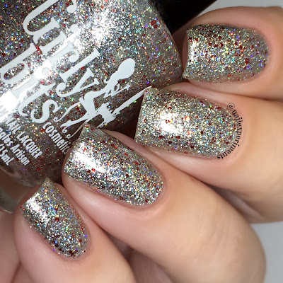 girly bits slay belle swatch december 2017 cotm