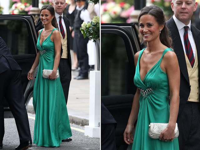 Pippa Middleton wears Alice Temperley for the post ... - photo#3