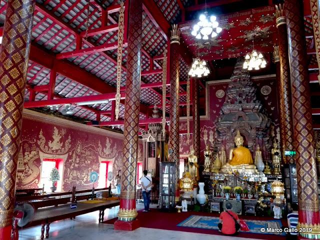 TEMPLOS DE CHIANG MAI, TAILANDIA. (2) WAT CHIANG MAN