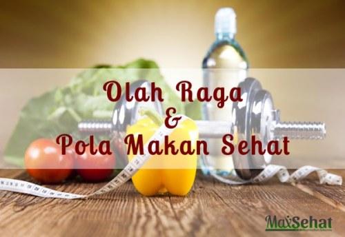 Olahraga dan pola makanan untuk diet