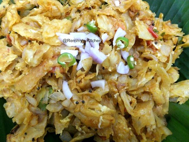 Kothu parotta / Muttai kothu parotta / Minced parotta with egg
