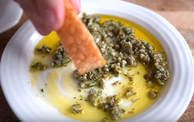 Olive Oil Dip Recipe