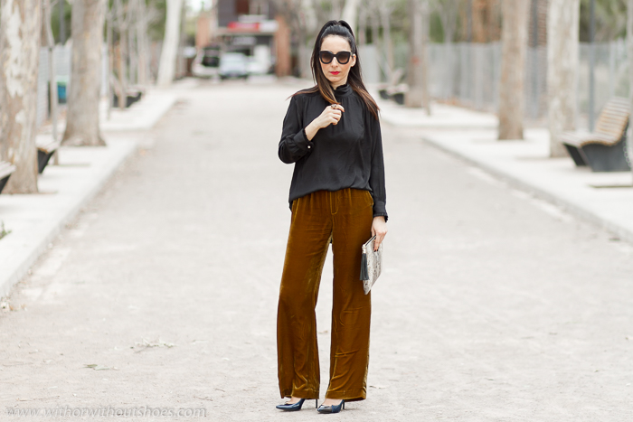 BLogger influencer de moda española con outfit elegante para ocasiones especiales