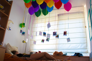 idea de regalo diy con globos