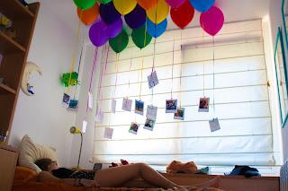 idea de regalo diy con globos