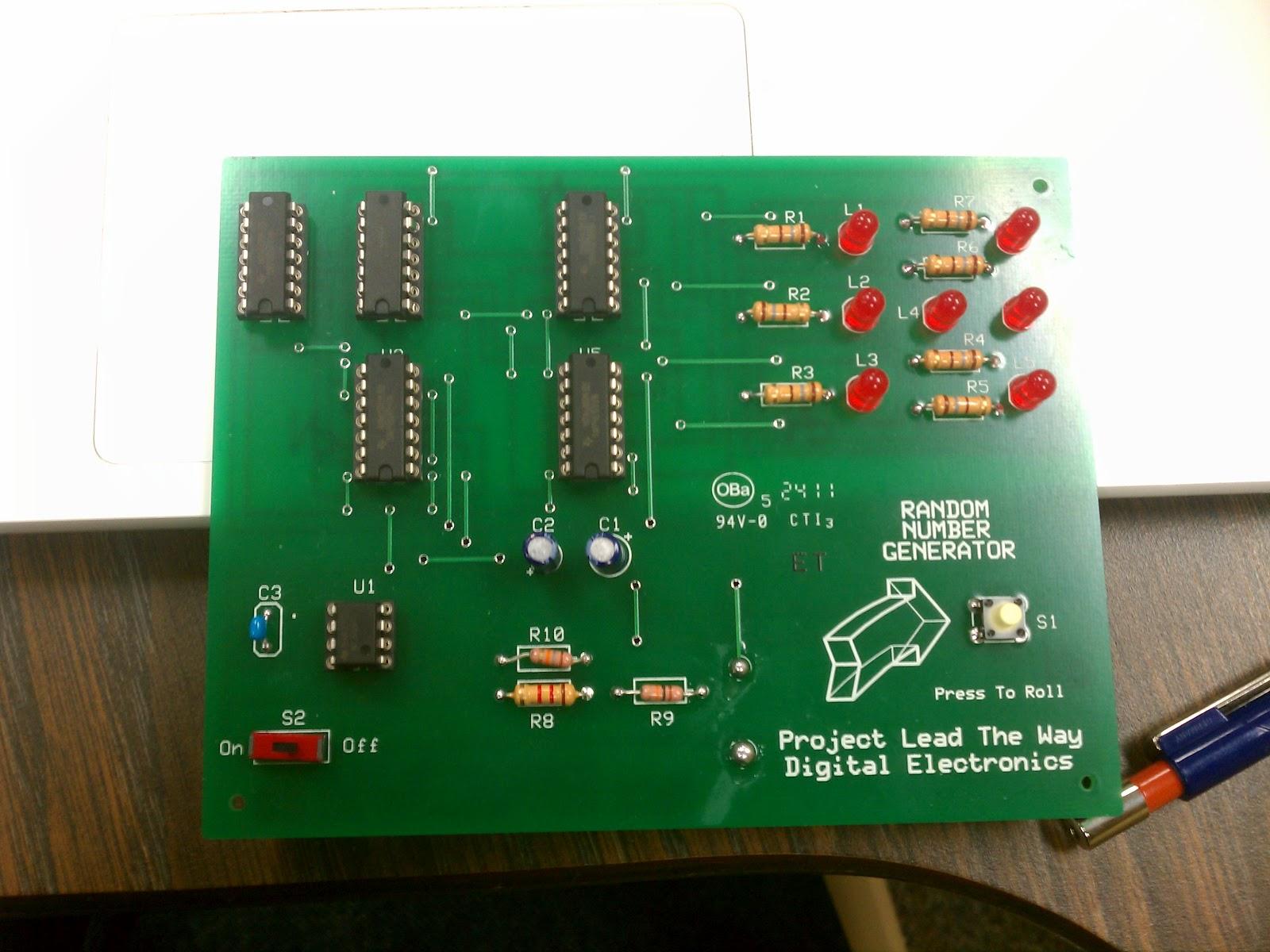 ENGINEERING ACADEMY PROJECT: Pseudo-random number generator