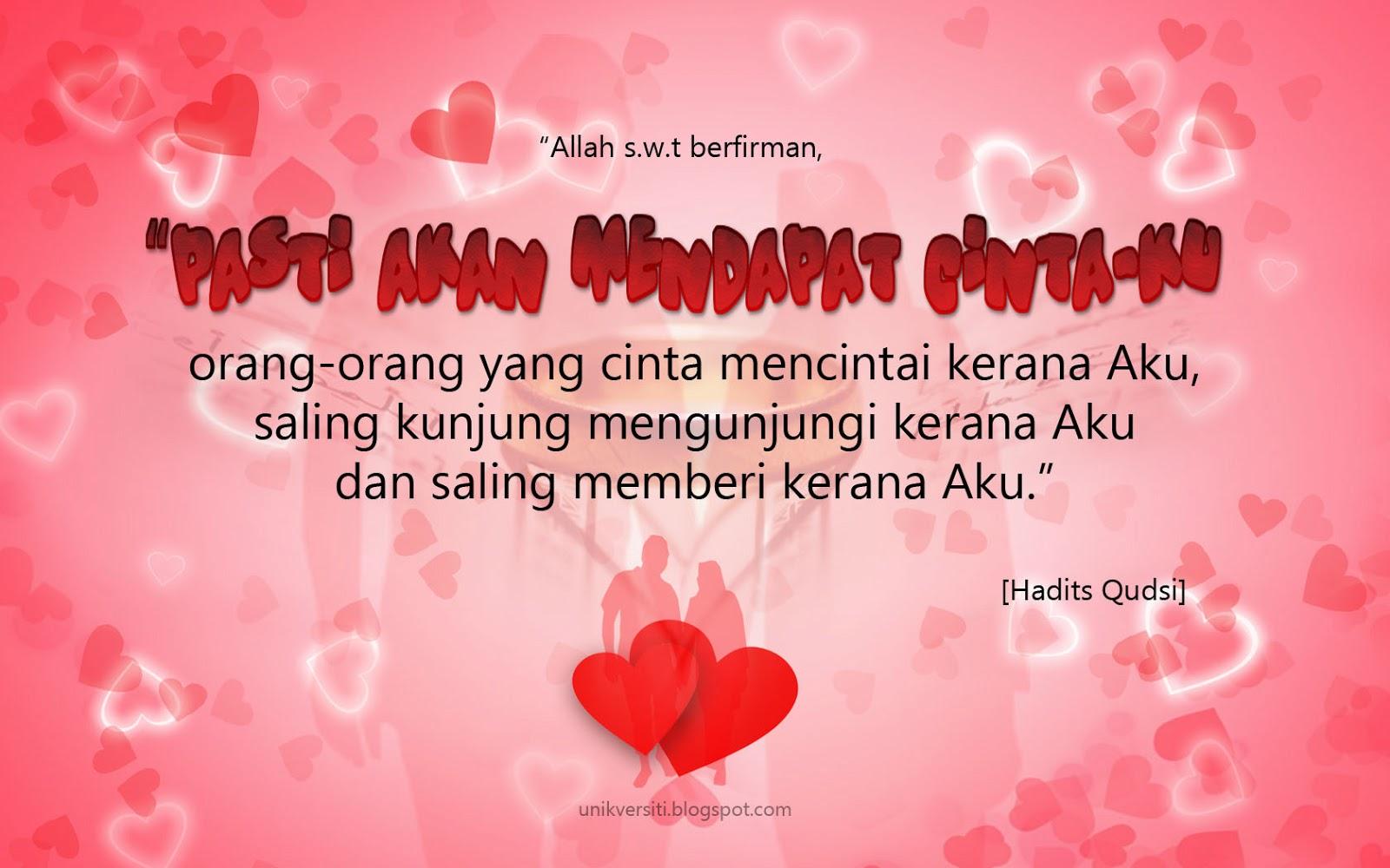 Cinta+kerana+Allah