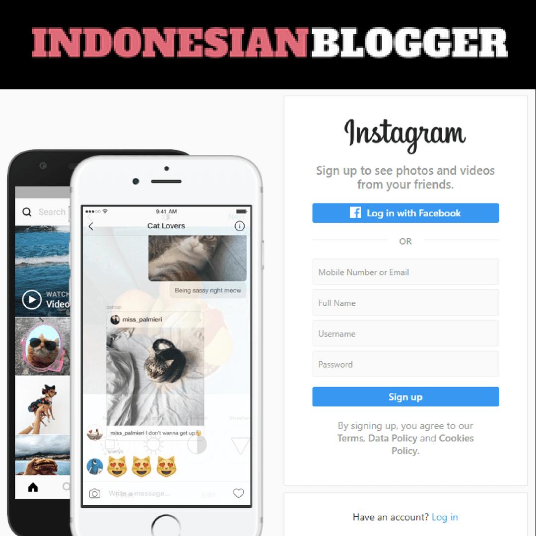 Bagaimana Cara Membuat Akun Instagram Lewat Google