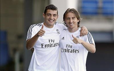 Julen Lopetegui: Real Madrid's Luka Modric and Mateo Kovacic