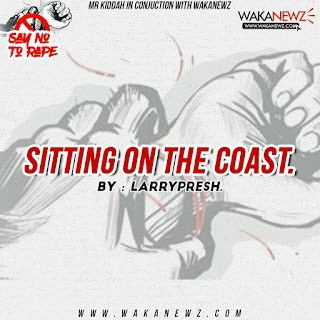 [Poem] Sitting on the coast (By Larrypresh)