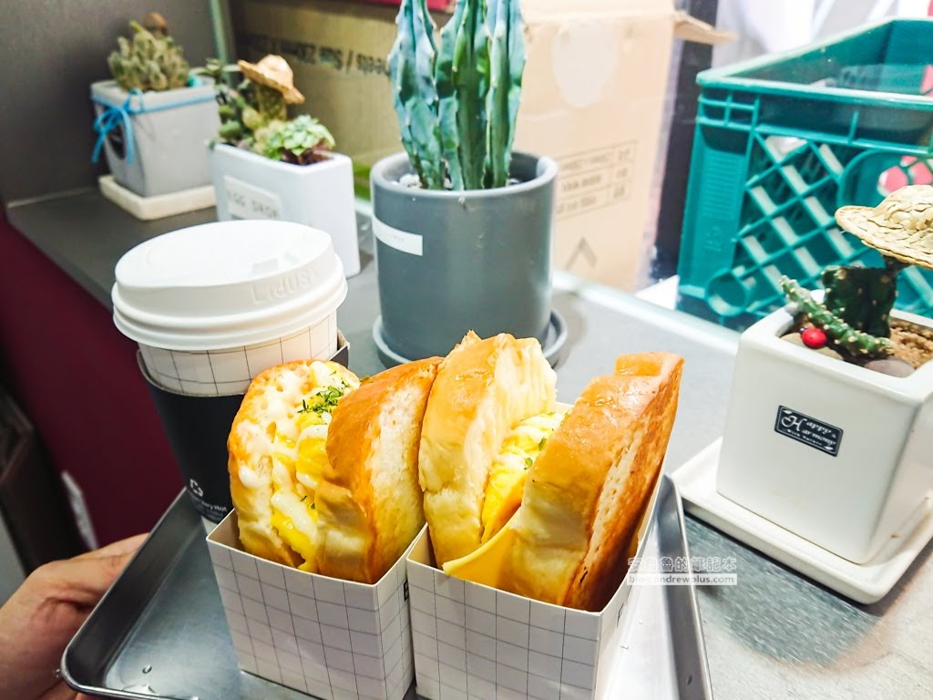 韓國炒蛋歐姆蛋三明治,釜山炒蛋三明治,eggdrop三明治,EDDDROP歐姆蛋