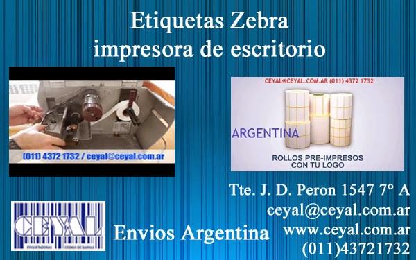 Como solucionar problemas de Zebra térmica zm400 Argentina bs as