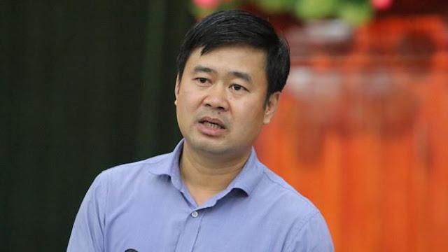 Ông Đỗ Minh Tuấn, Phó chủ tịch UBND huyện Sóc Sơn