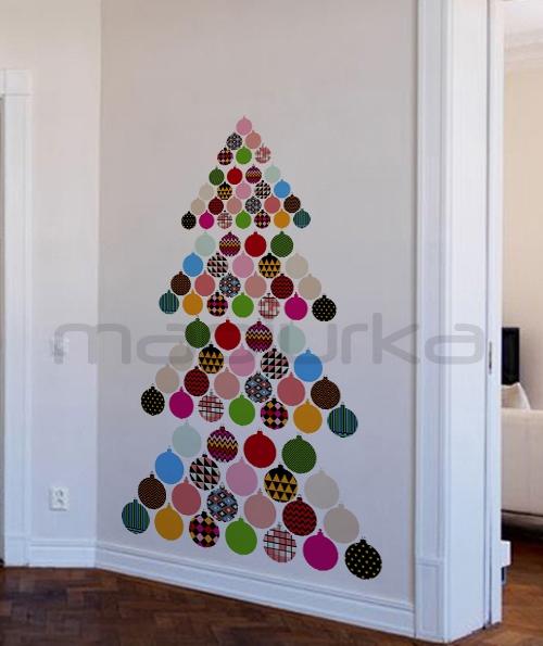 Mapiurka adhesivos decorativos ba decoraci n navide a - Diseno de arboles de navidad ...