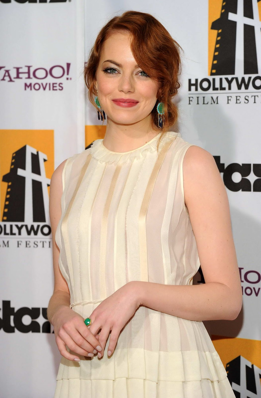 Battle of the Sexes actress Emma Stone at The 15th Annual Hollywood Film Awards Gala